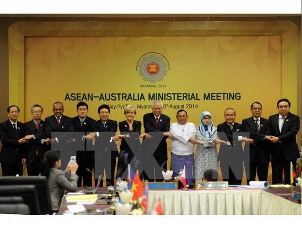 อาเซียนและออสเตรเลียร่วมมือกันในการต่อต้านการค้ามนุษย์ - ảnh 1