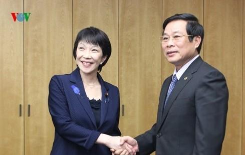 เวียดนาม – ญี่ปุ่นกระชับความร่วมมือด้านการสื่อสารและประชาสัมพันธ์ - ảnh 1
