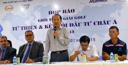 การแข่งขันกอล์ฟการกุศลเพื่อการเชื่อมโยงการลงทุนในเอเชีย 2015 - ảnh 1