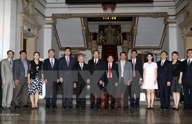 เวียดนามและจีนกระชับความร่วมมือด้านการตรวจสอบวินัยสมาชิกพรรค - ảnh 1