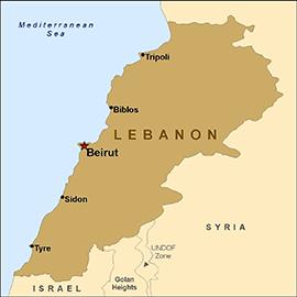 พลเมืองสาธารณรัฐเช็ก 5 คนถูกลักพาตัวในเลบานอน - ảnh 1