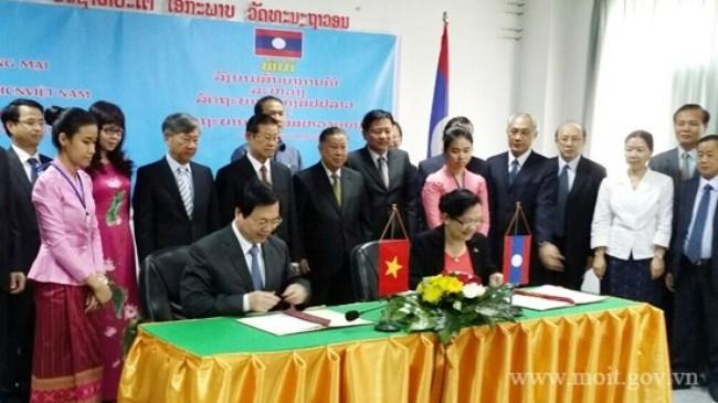 เวียดนามยังคงอยู่อันดับที่ 3 ในจำนวนประเทศที่ลงทุนในลาวมากที่สุด - ảnh 1
