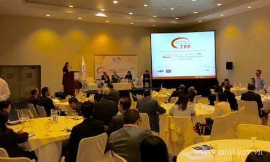 เวียดนามเข้าร่วมฟอรั่มเกี่ยวกับโอกาสและความท้าทายจากข้อตกลงทีพีพี ณ ประเทศเม็กซิโก - ảnh 1