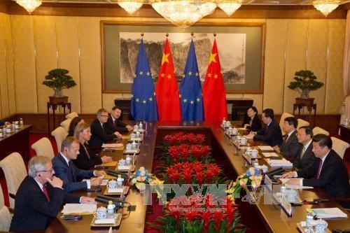การประชุมสุดยอดจีน-สหภาพยุโรป หรือ อียู - ảnh 1