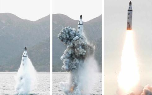 สาธารณรัฐประชาธิปไตยประชาชนเกาหลีทำการทดลองยิงขีปนาวุธนำวิถีต่อไป - ảnh 1