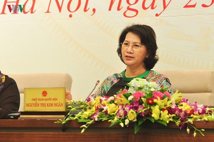 รัฐสภาเวียดนามให้คำมั่นที่จะตรวจสอบปัญหาหนี้สาธารณะอย่างใกล้ชิด - ảnh 1