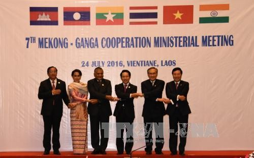 การประชุมรัฐมนตรีว่าการกระทรวงการต่างประเทศความร่วมมือแม่โขง-คงคา - ảnh 1