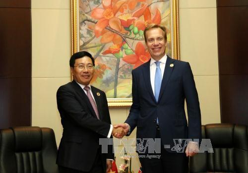 กระชับความร่วมมือระหว่างเวียดนาม นอร์เวย์  นิวซีแลนด์และแคนาดา - ảnh 1