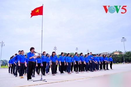 พิธีรำลึกครบรอบ 86ปีการก่อตั้งกองเยาวชนคอมมิวนิสต์โฮจิมินห์และพิธีมอบรางวัลลี้ตื๋อจ่องปี 2017 - ảnh 1