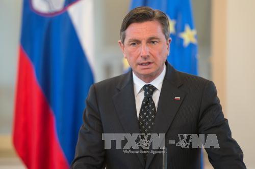 สโลวีเนียเรียกร้องให้อียูรับประเทศในเขตบอลข่านเข้าเป็นสมาชิก - ảnh 1
