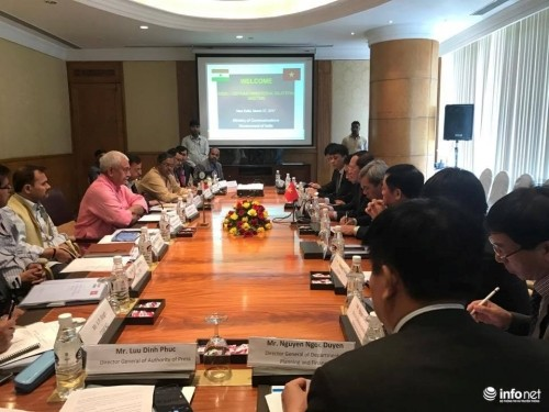 เวียดนามและอินเดียส่งเสริมความร่วมมือด้านไปรษณีย์และโทรคมนาคม - ảnh 1