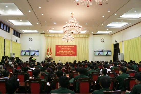 เปิดการรณรงค์การเขียนเกี่ยวกับความสามัคคีในการต่อสู้ของเวียดนาม ลาวและกัมพูชา - ảnh 1