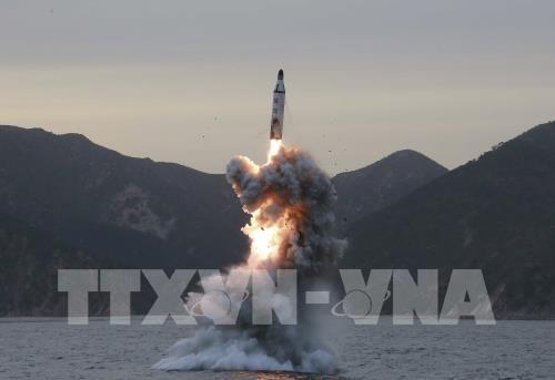 สาธารณรัฐเกาหลีและสหรัฐเตือนว่า จะเพิ่มมาตรการควํ่าบาตรสาธารณรัฐประชาธิปไตยประชาชนเกาหลี - ảnh 1