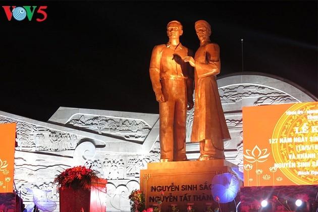 กิจกรรมรำลึกครบรอบ 127ปีวันคล้ายวันเกิดของประธานโฮจิมินห์ - ảnh 1