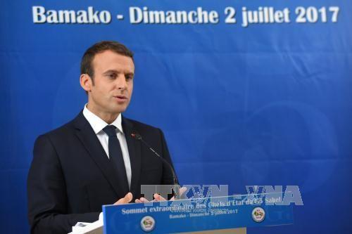 ประธานาธิบดีฝรั่งเศสเรียกร้องให้ฟื้นฟูอียู - ảnh 1