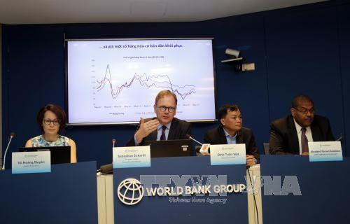 ธนาคารโลกประเมินว่า การพัฒนาเศรษฐกิจระยะกลางของเวียดนามยังคงมีสัญญาณที่สดใส - ảnh 1