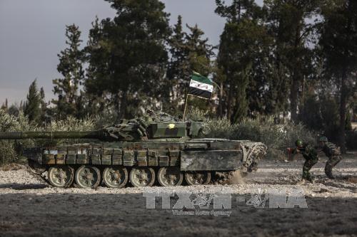 กองทัพซีเรียประกาศหยุดยิงในเขตตะวันออกของเมือง Ghouta - ảnh 1
