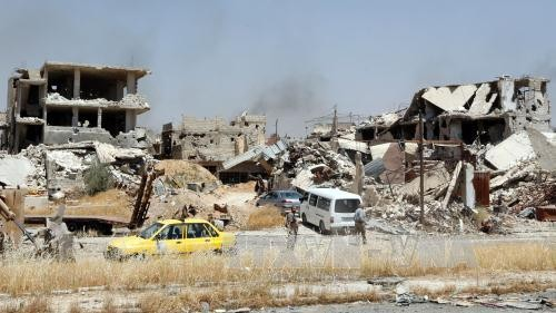 ซีเรียเรียกร้องให้สหประชาชาติยุบกองกำลังพันธมิตรนานาชาตินำโดยสหรัฐ - ảnh 1