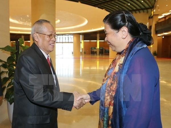 ยกระดับประสิทธิภาพความร่วมมือระหว่างรัฐสภาเวียดนามกับกัมพูชา - ảnh 1