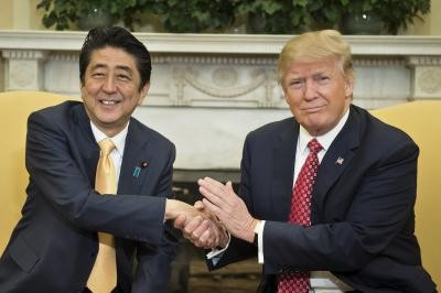 สหรัฐและญี่ปุ่นร่วมมือเพื่อกดดันให้เปียงยางเปลี่ยนแปลงนโยบาย - ảnh 1