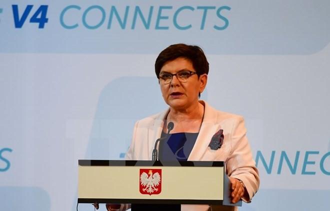 นายกรัฐมนตรีโปแลนด์เยือนฝรั่งเศสหลังความตึงเครียดด้านการทูต - ảnh 1