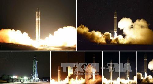 สาธารณรัฐประชาธิปไตยประชาชนเกาหลีประกาศไม่มีอุปสรรคใดๆในโครงการพัฒนาอาวุธ - ảnh 1