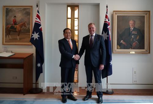 กระชับความสัมพันธ์ระหว่างเวียดนามกับออสเตรเลียเพื่อผลประโยชน์ของประชาชนทั้ง 2 ประเทศ - ảnh 1