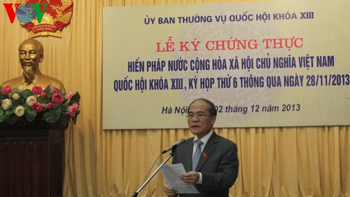 Vietnam Constitution promotes human rights - ảnh 1
