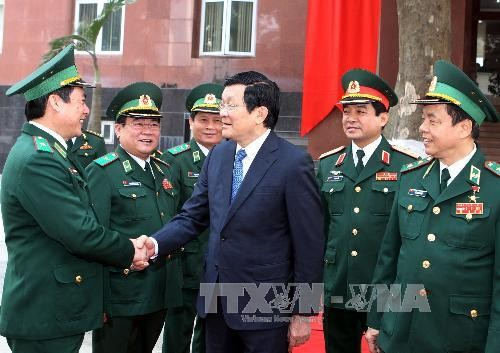 President highlights people's national defense - ảnh 1