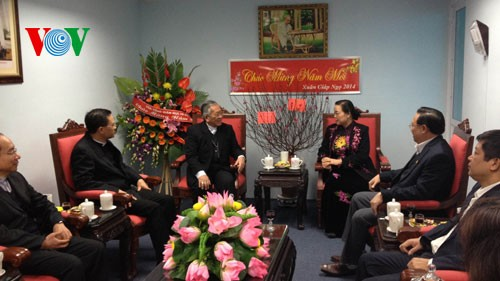 Catholics strengthen national unity bloc - ảnh 1