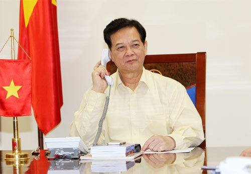 Vietnamese, Malaysian Prime Ministers talk on phone over missing plane - ảnh 1