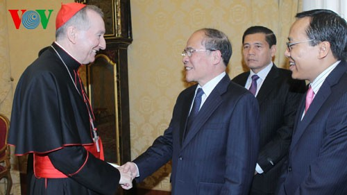NA Chairman Nguyen Sinh Hung concludes visits to Switzerland, Italy - ảnh 2