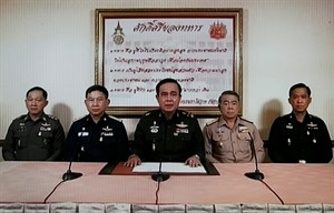 Thai army declares coup, imposes curfew - ảnh 1