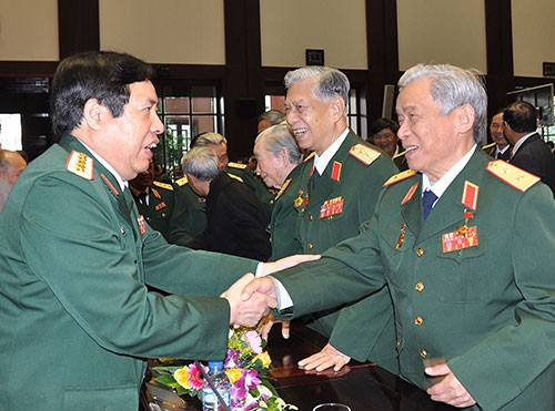 Meeting to mark 70th anniversary of Vietnam People's Army - ảnh 1