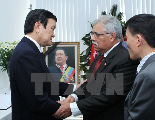 Commemorating Hugo Chavez's 2nd death anniversary - ảnh 1