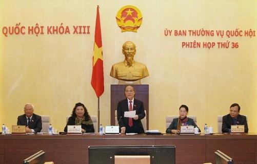 NA's Standing Committee debates draft laws - ảnh 1