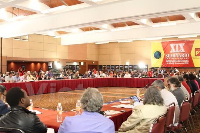 Vietnamese Party delegation visits Mexico, El Salvador - ảnh 1