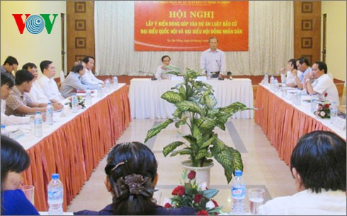 Seminar on the draft Law on the election of NA and People's Councils deputies   - ảnh 1