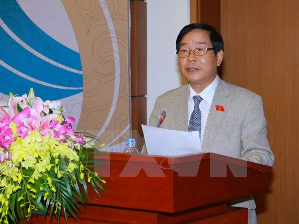Press conference on the 132nd General Assembly of the Inter Parliamentary Union - ảnh 1