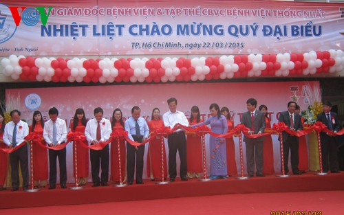 Project on expanding Thong Nhat hospital launched  - ảnh 1