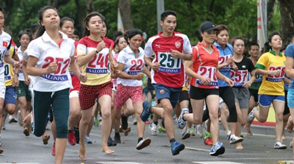 2015 Olympic Day Run launched in Vietnam - ảnh 1