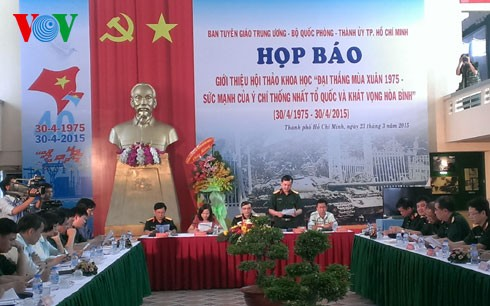 Seminar on 1975 Spring Victory to be held - ảnh 1