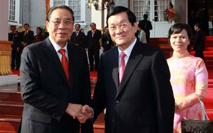 Boosting Vietnam-Laos comprehensive cooperation  - ảnh 1