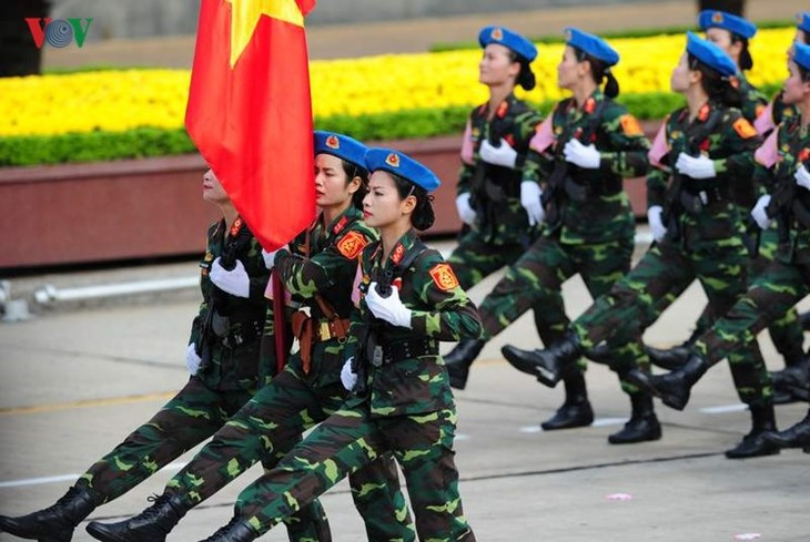 Scenes from majestic National Day parade - ảnh 10