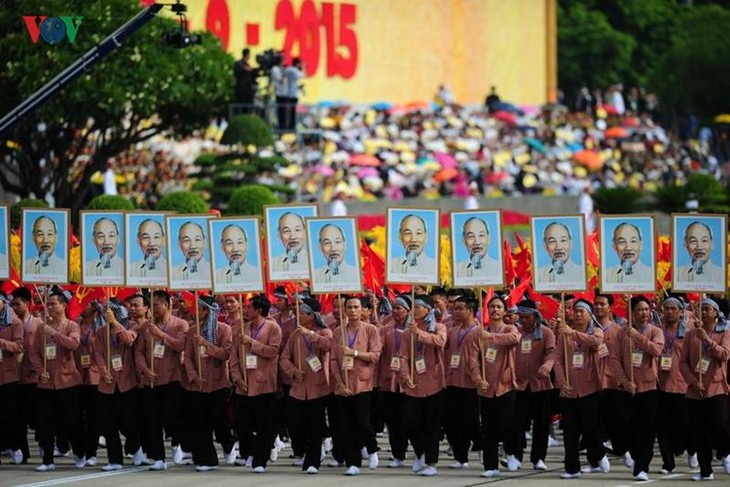Scenes from majestic National Day parade - ảnh 14