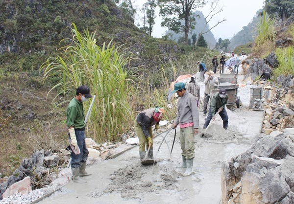 Ha Giang's Meo Vac district: Building consensus in new rural development - ảnh 1