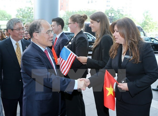 NA Chairman Nguyen Sinh Hung visits Boston, Massachusetts - ảnh 1