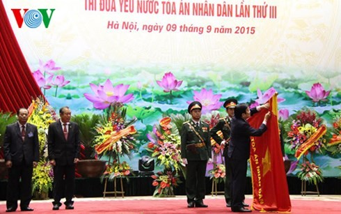 Supreme People's Court marks its 70th anniversary - ảnh 1
