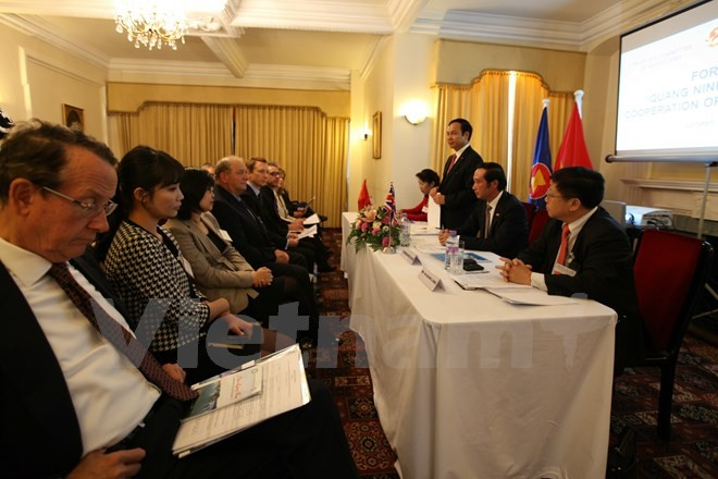 Activities to promote Quang Ninh tourism held in London - ảnh 1