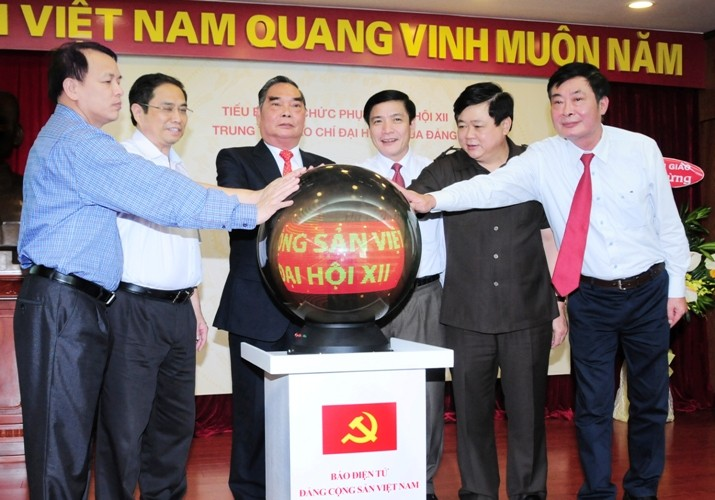 CPV webpage on 12th national congress launched - ảnh 1